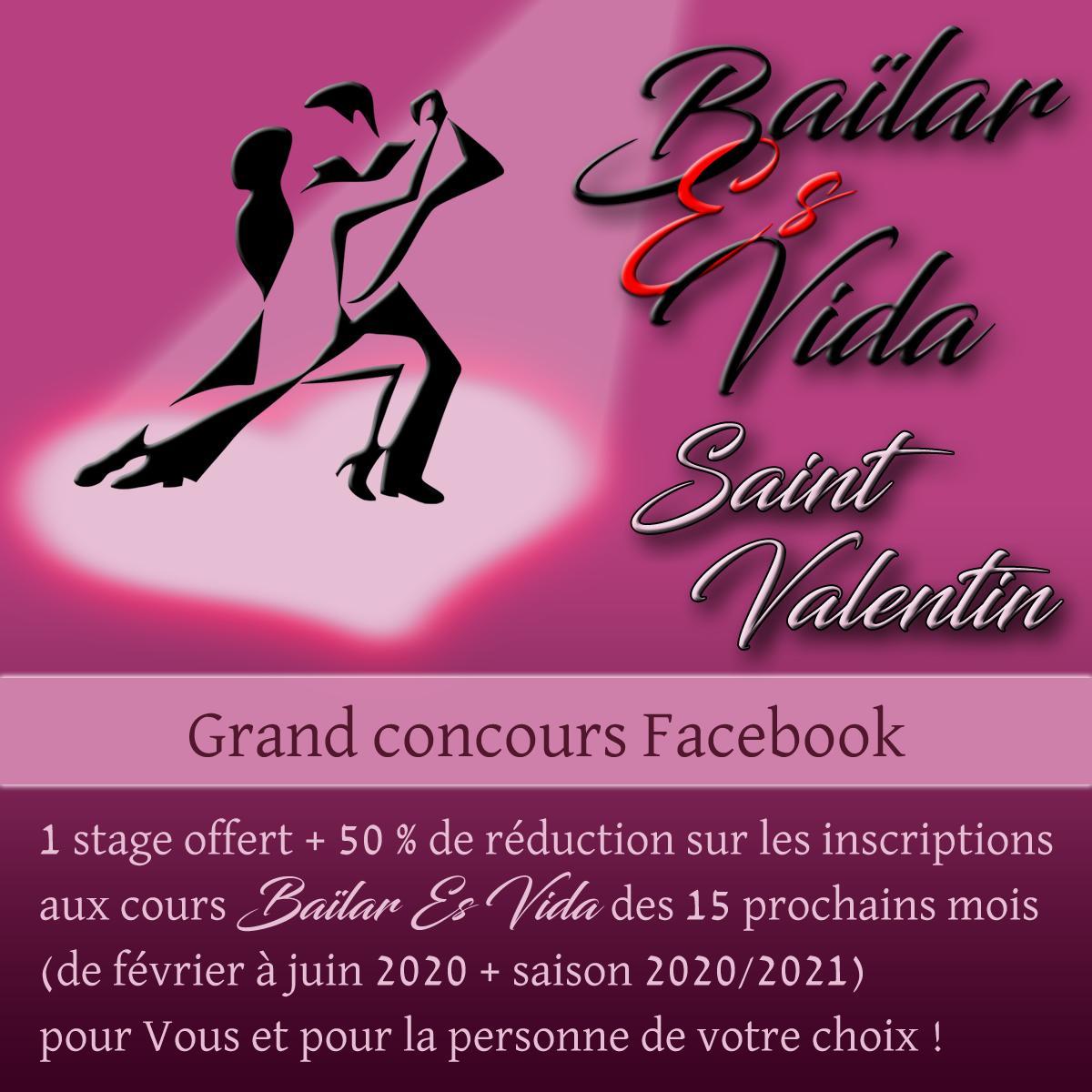 Concours Facebook Saint Valentin