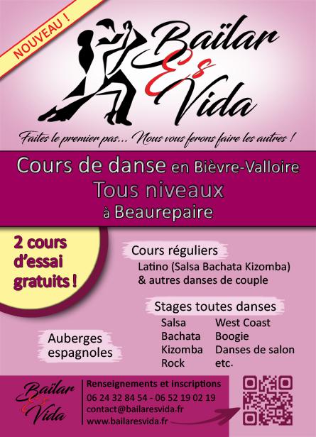 Baïlar Es Vida : cours de danse à Beaurepaire